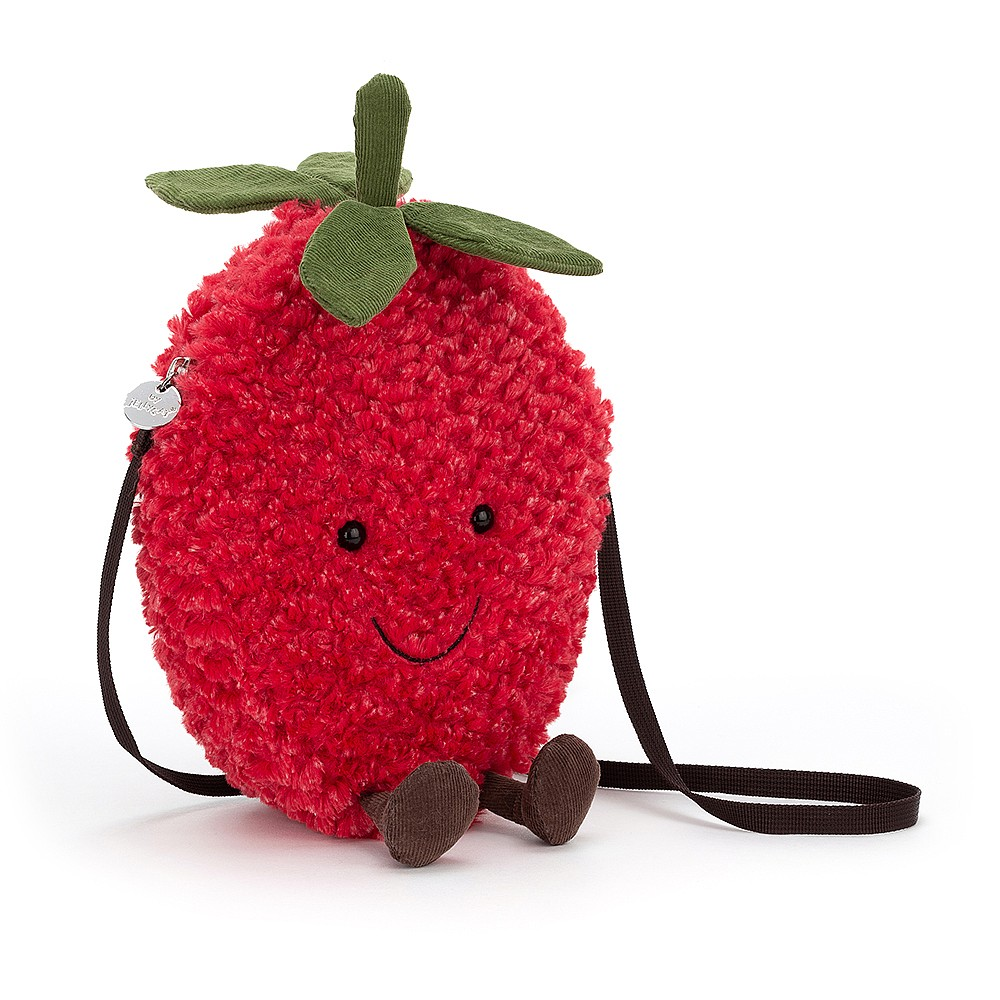 Amuseable Strawberry Bag