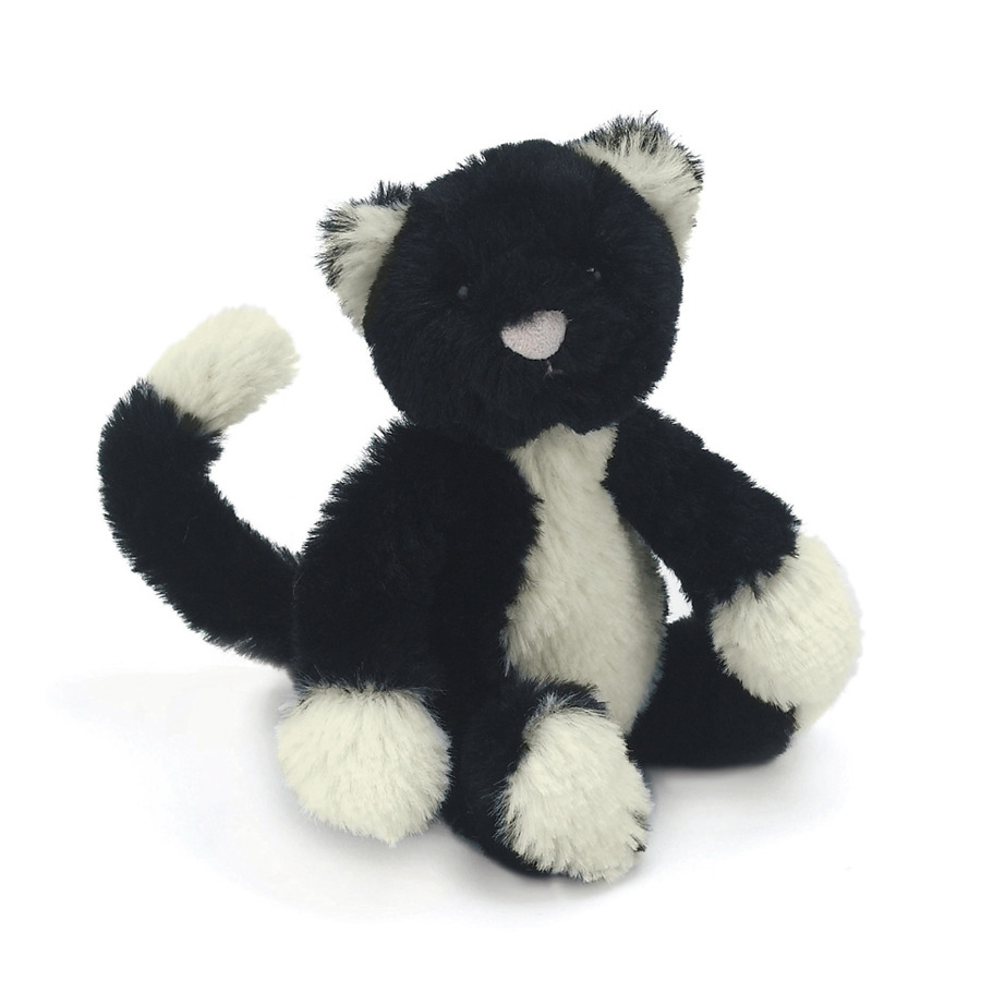 Buy Bashful Black White Cat Online At Jellycat Com