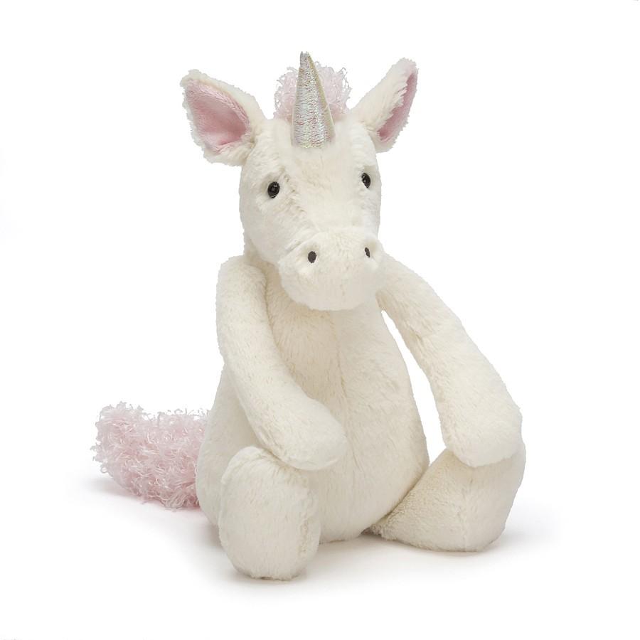 S Jellycat Bashful Unicorn Kuscheltier