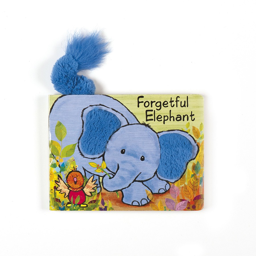 buy forgetful elephant book online at jellycat com