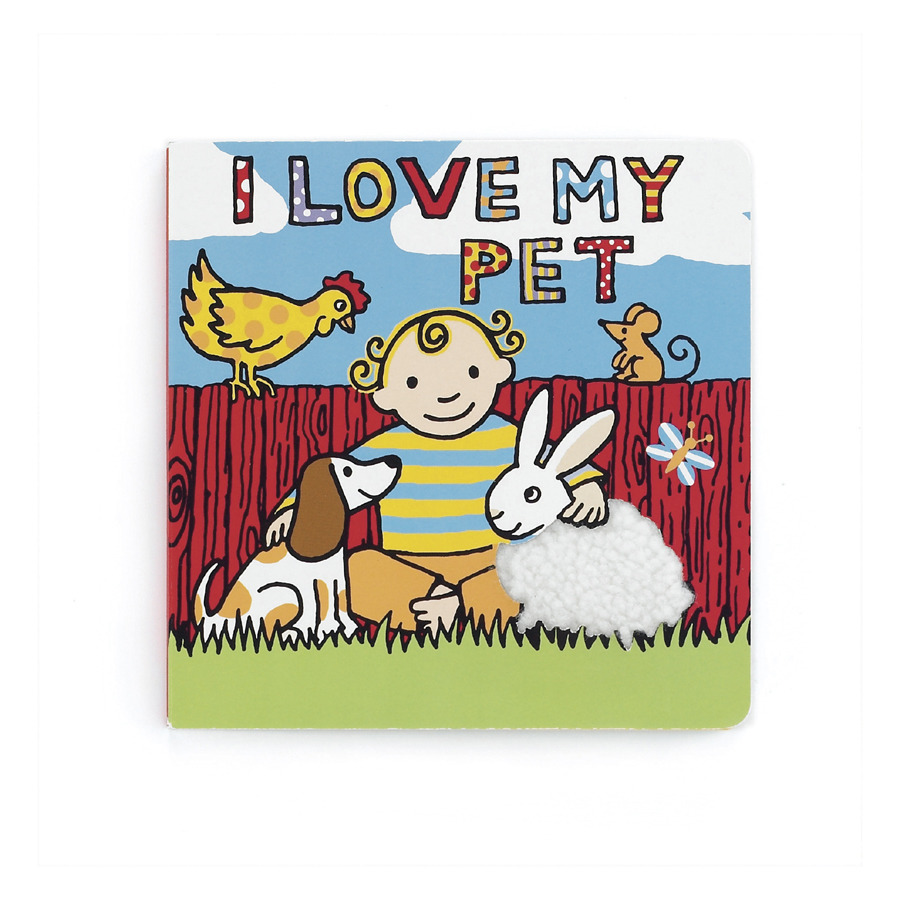 buy i love my pet book online at jellycat com