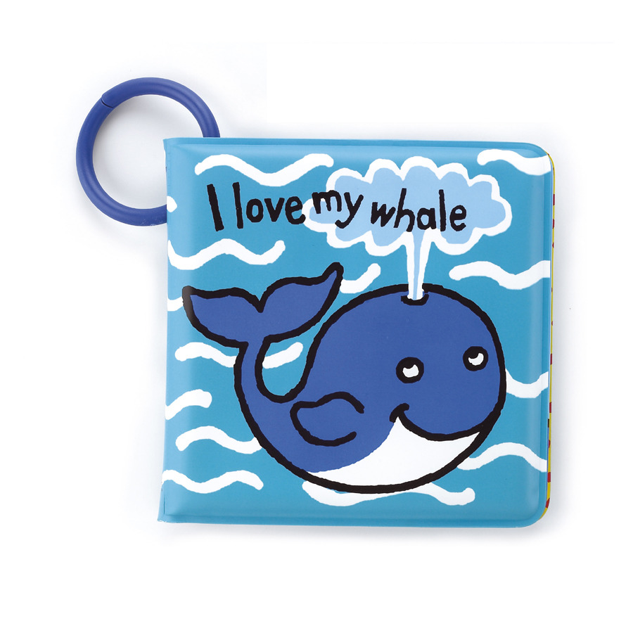 Buy I Love My Whale Bath Book - Online at Jellycat.com