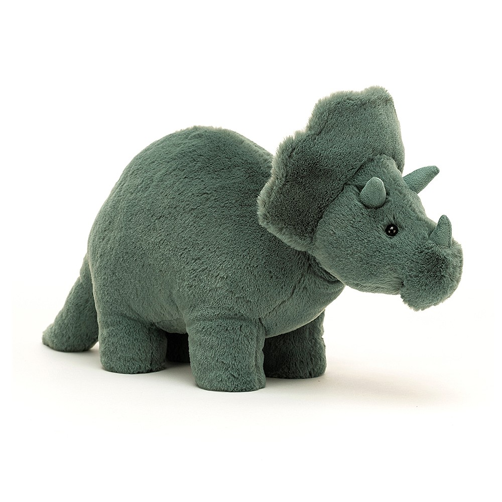 Buy Fossilly Triceratops - Online at Jellycat.com