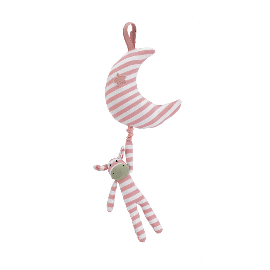 Buy Squeaky Moo Pink Musical Pull Online At Jellycat Com