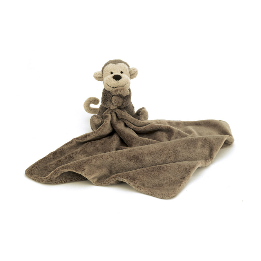 Buy Bashful Monkey Soother Online At Jellycat Com