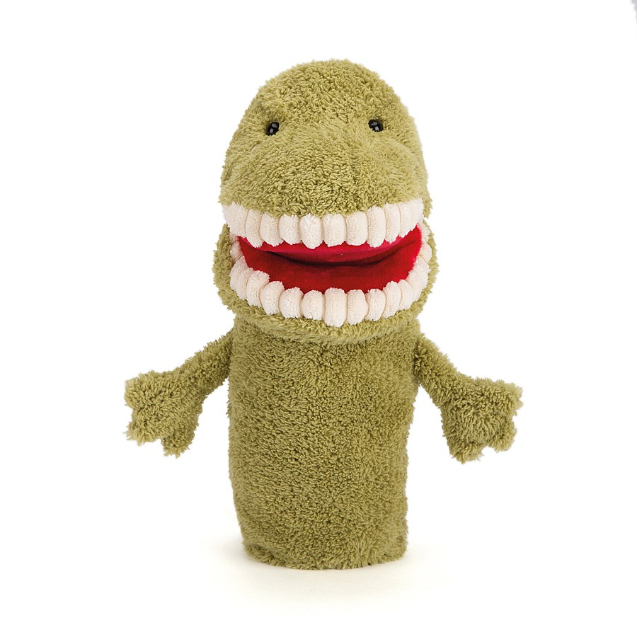 Buy Toothy T Rex Hand Puppet - Online at Jellycat com