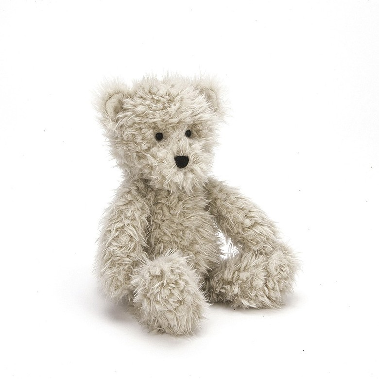 Angora Cocoa Bear Soft Toy
