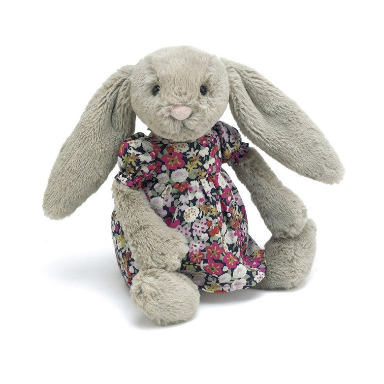 Floral Betsy Bunny Soft Toy