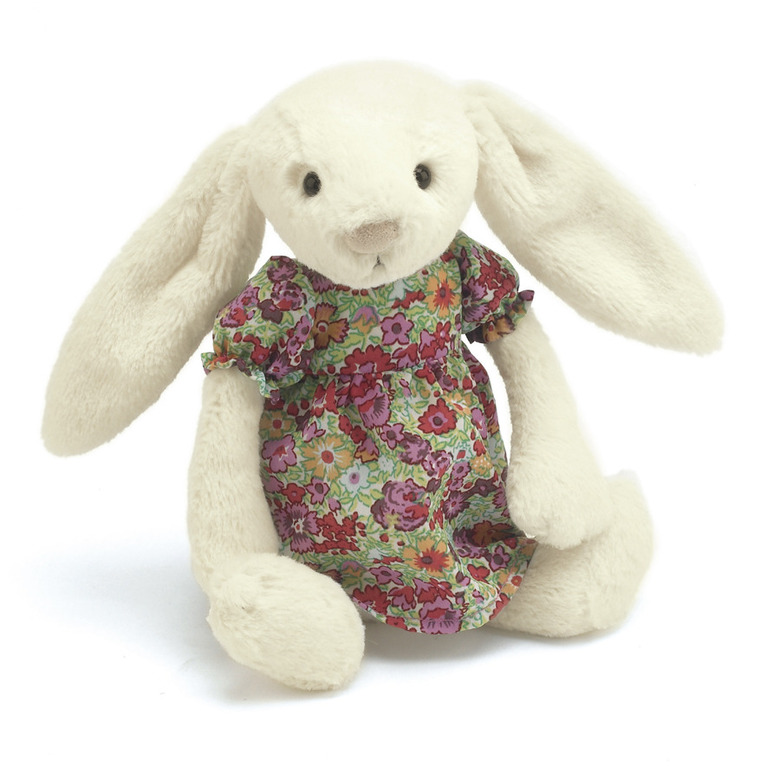 Floral Bella Bunny Soft Toy