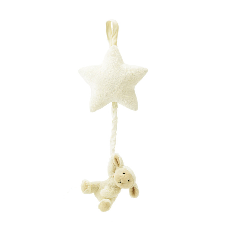 Bashful Lamb Star Musical Pull