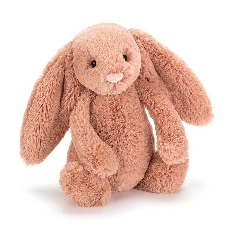 Bashful Apricot Bunny Soft Toy