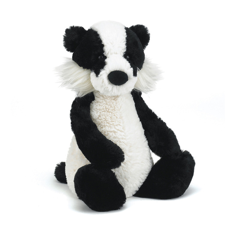 Bashful Badger Soft Toy
