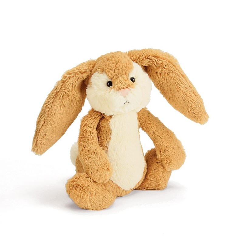 Bashful Wriggle Bunny Soft Toy