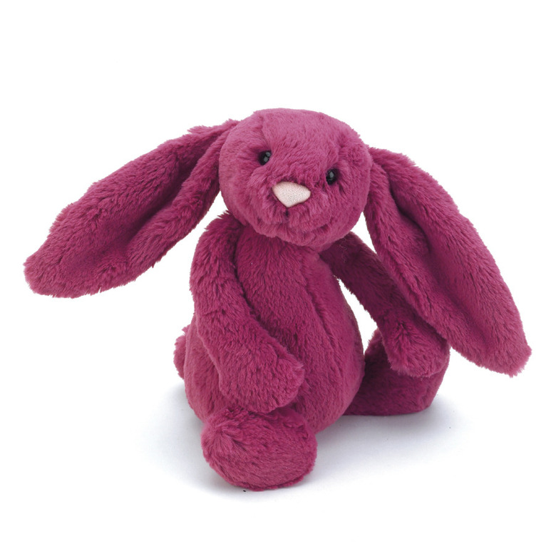 Bashful Rose Bunny Soft Toy