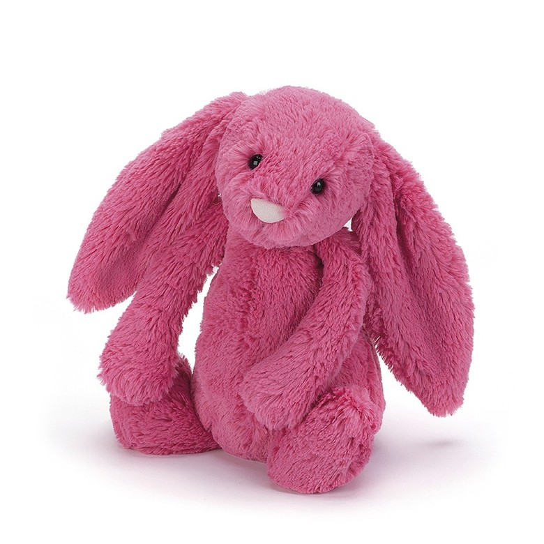 Bashful Strawberry Bunny Soft Toy