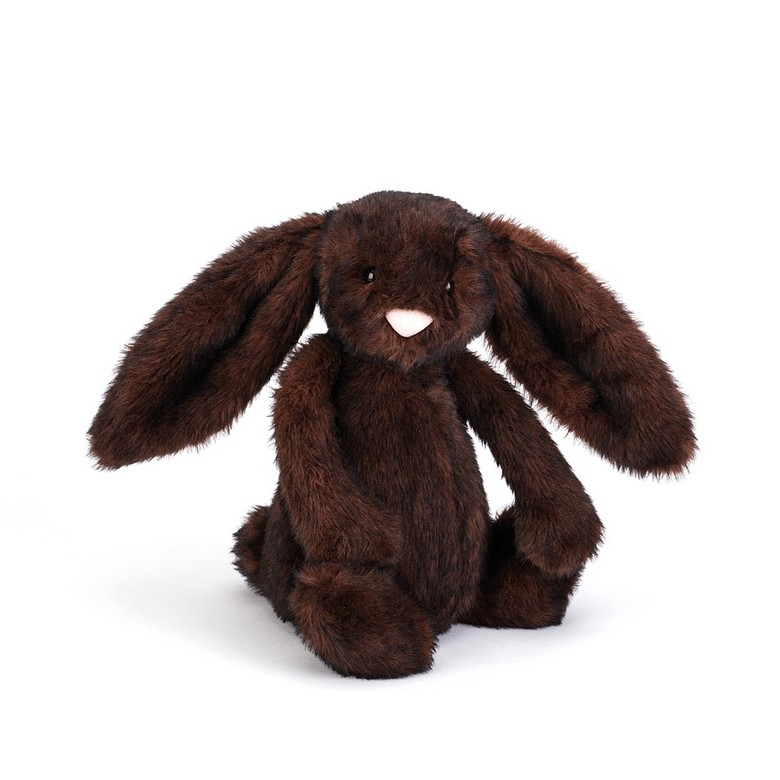 Bashful Walnut Bunny Soft Toy