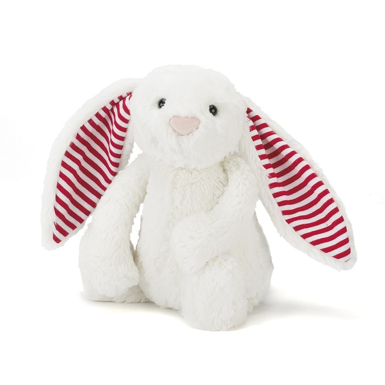 Bashful Candy Stripe Bunny Soft Toy