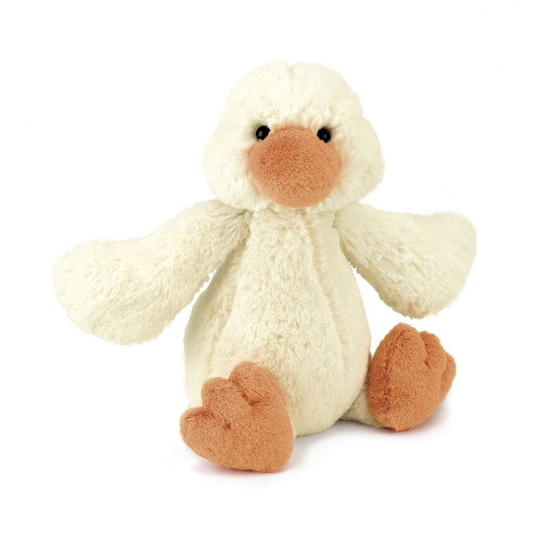 Bashful Cream Duckling Soft Toy