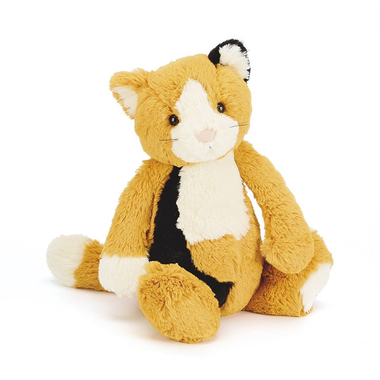 Bashful Calico Kitty Soft Toy