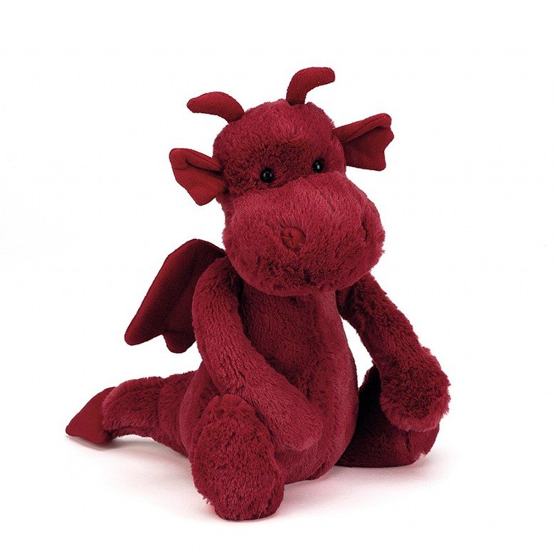 Bashful Dragon Soft Toy