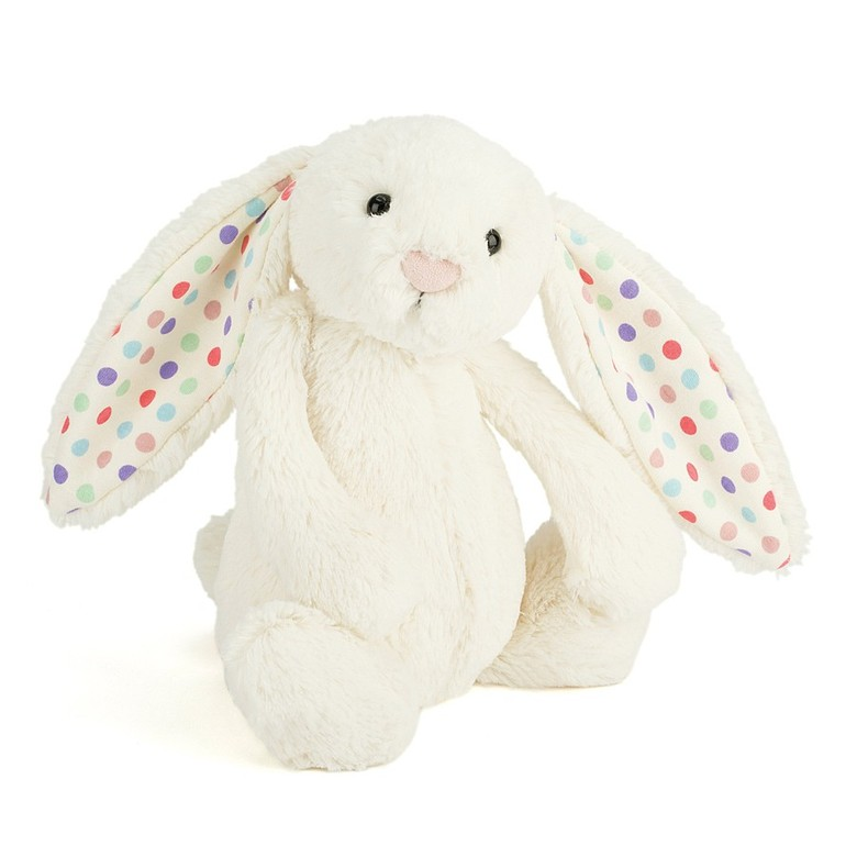 Bashful Dot Bunny Soft Toy