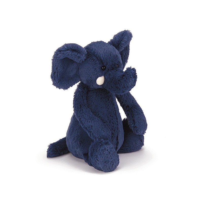 Bashful Blue Elephant Soft Toy