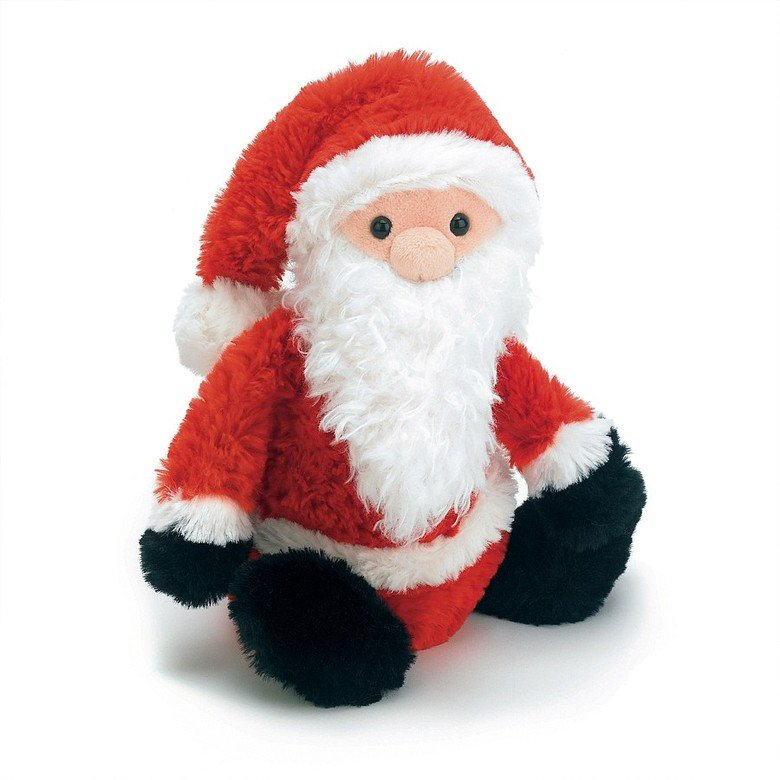 Bashful Father Christmas Soft Toy