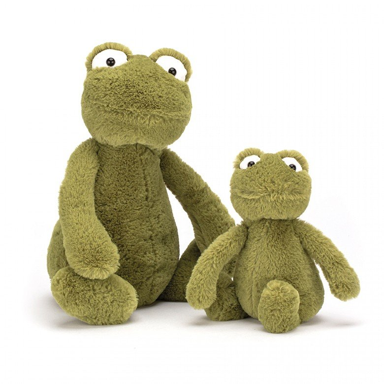 Bashful Frog Soft Toy