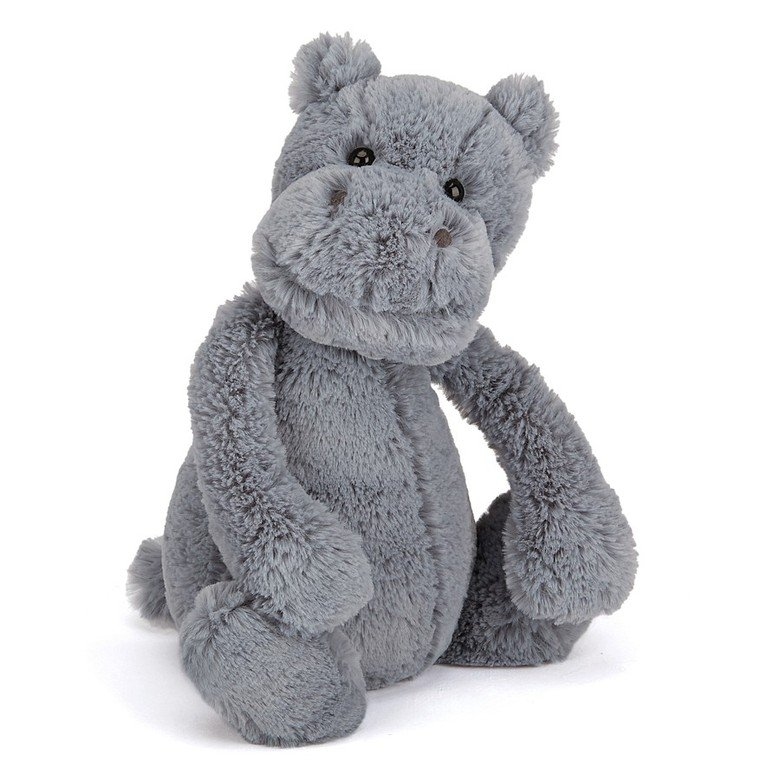 Bashful Hippo Soft Toy