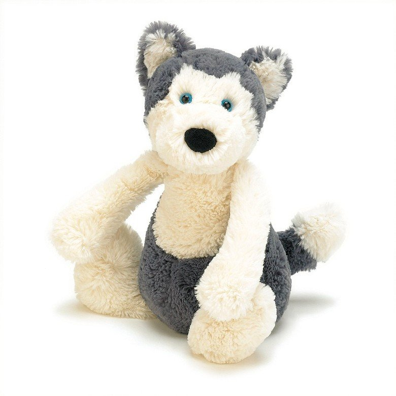 Bashful Huskie Soft Toy