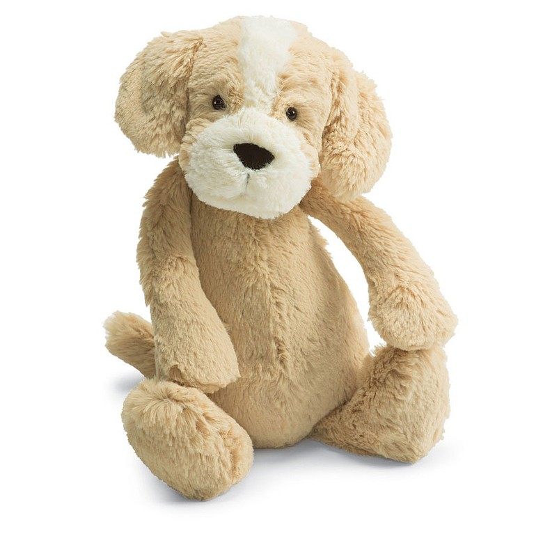 Bashful Honey Puppy Soft Toy