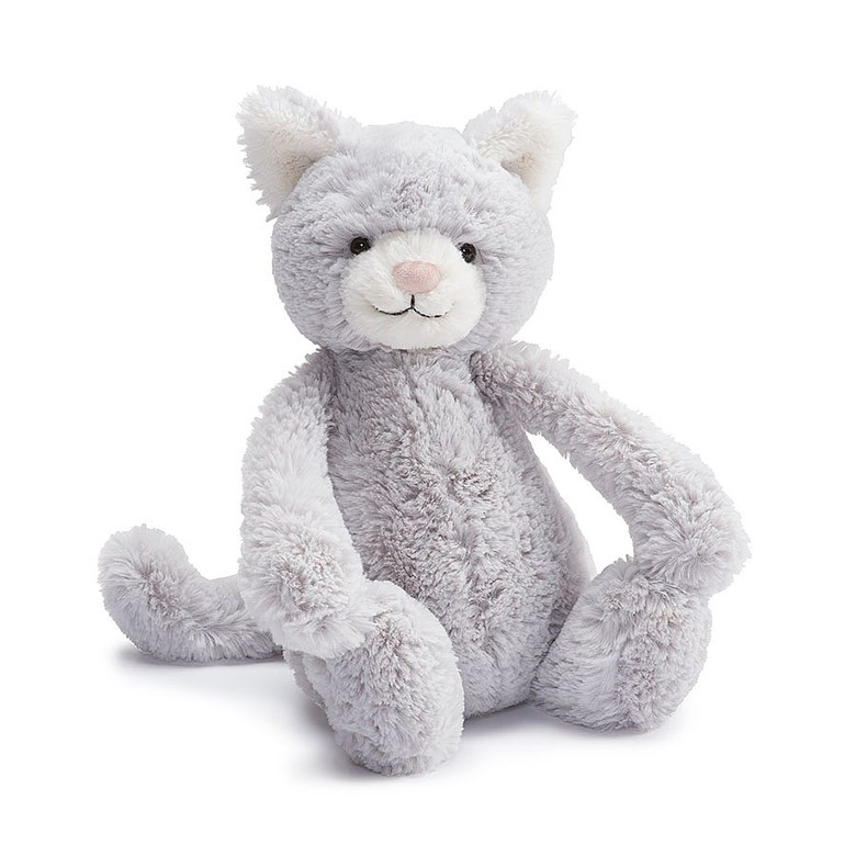 Bashful Kitty Soft Toy