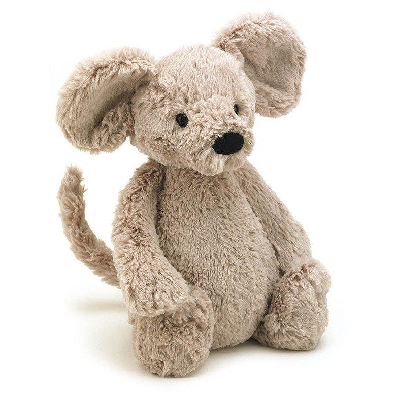 Bashful Mouse Soft Toy