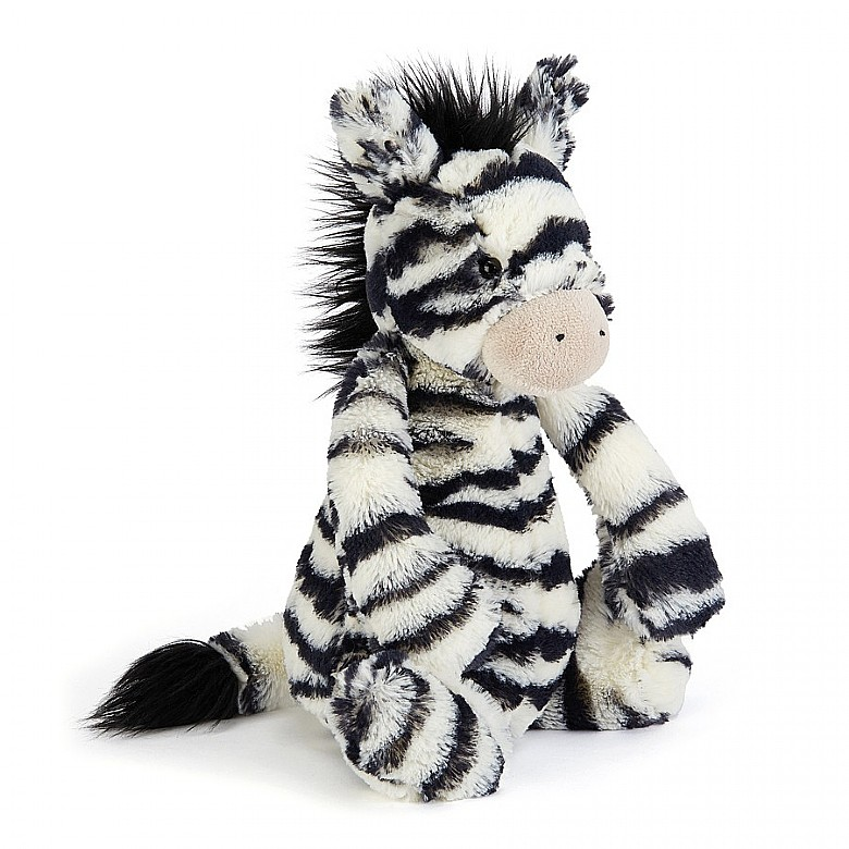 Bashful Zebra Soft Toy