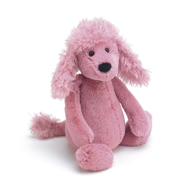 Bashful Poodle Soft Toy