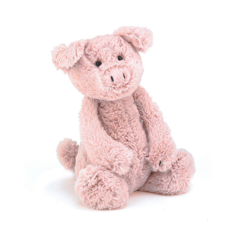 Bashful Piggy Soft Toy
