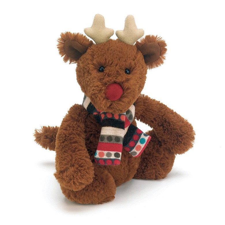 Bashful Reindeer Soft Toy