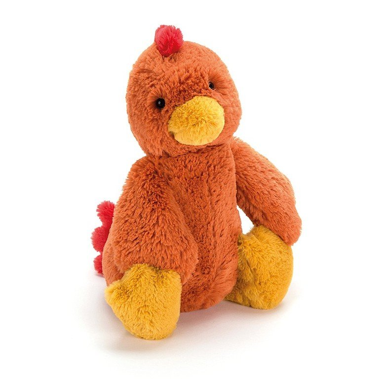 Bashful Rooster Soft Toy