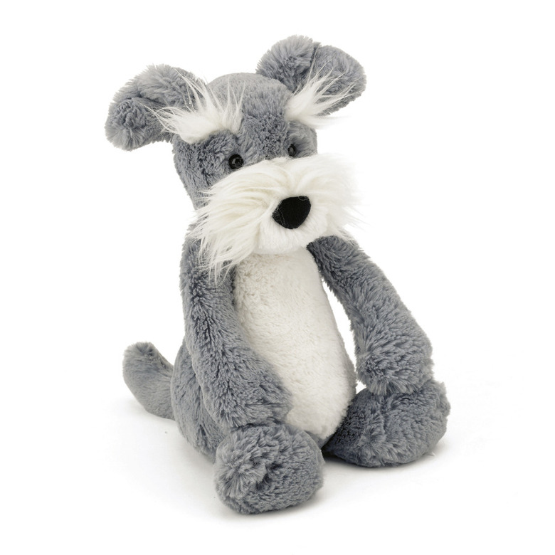 Bashful Schnauzer Soft Toy