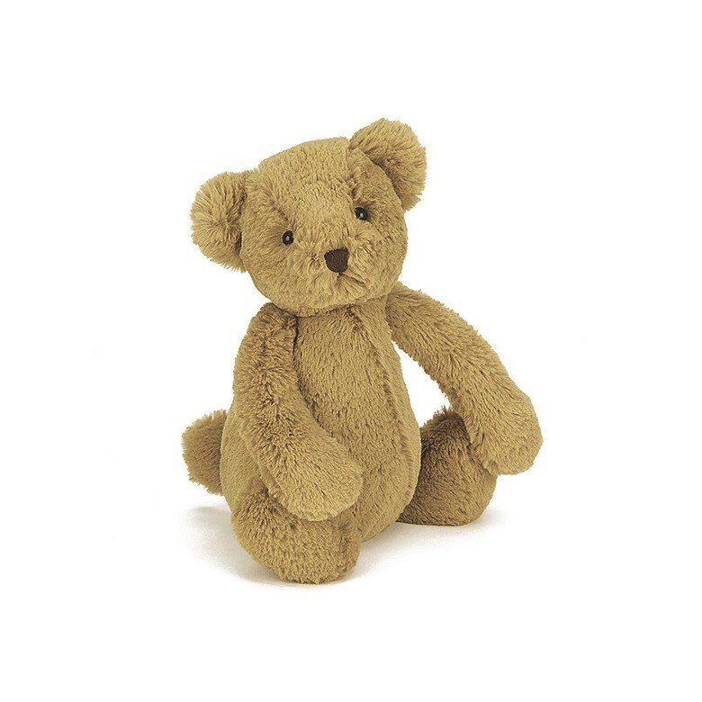 Bashful Teddy Bear Soft Toy