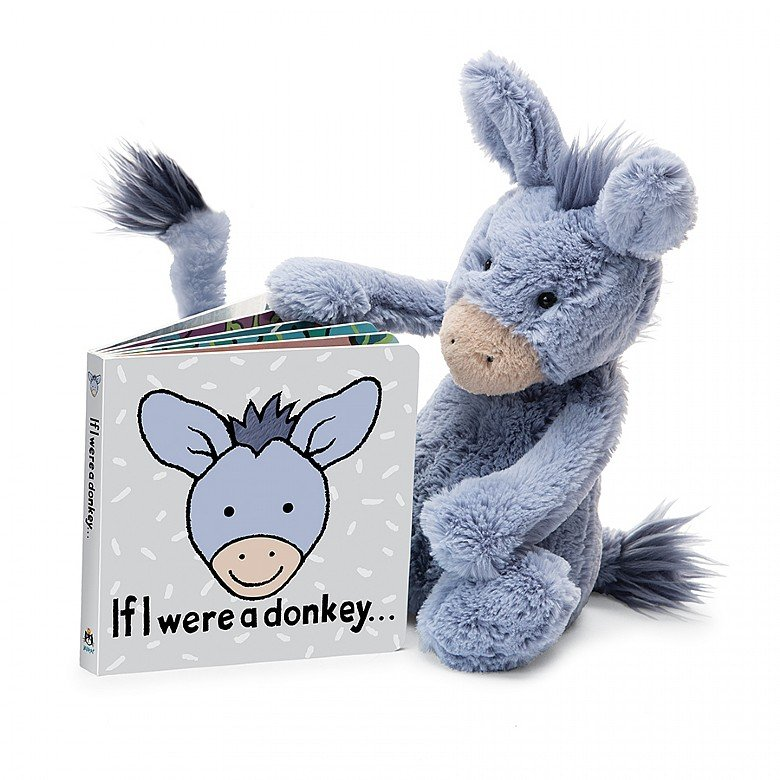 If I were a Donkey Board Book