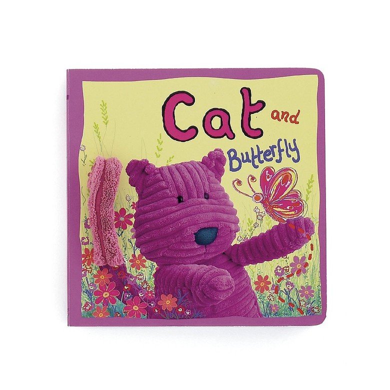 Cat and Butterfly Board Book