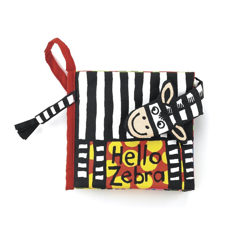 Hello Zebra Book