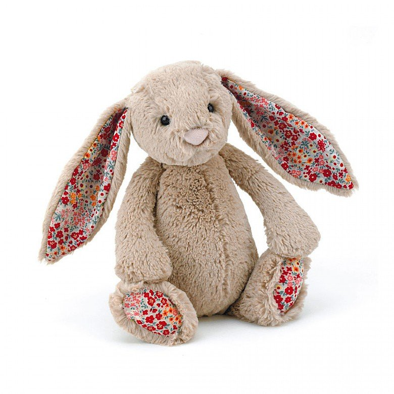 Blossom Beige Bunny Soft Toy