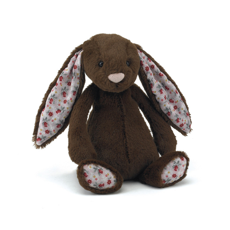 Blossom Bashful Chocolate Bunny Soft Toy