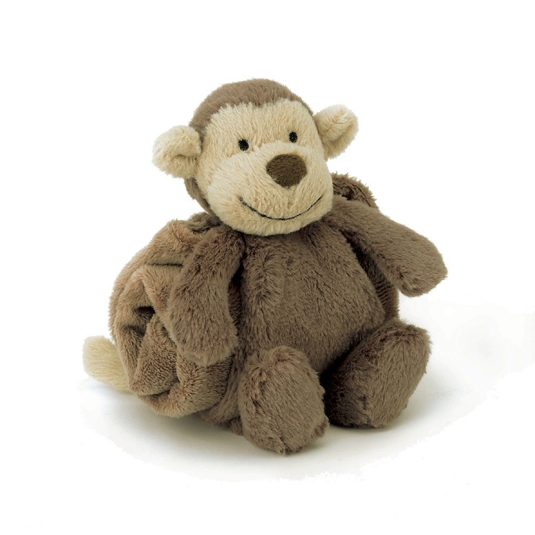 Bashful Monkey Blankette Soother