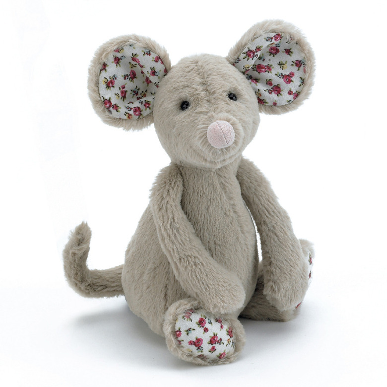 Blossom Beige Mouse Soft Toy