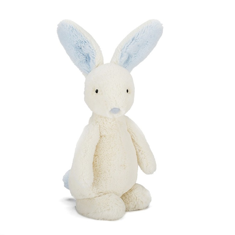 Bobtail Bunny Blue Soft Toy