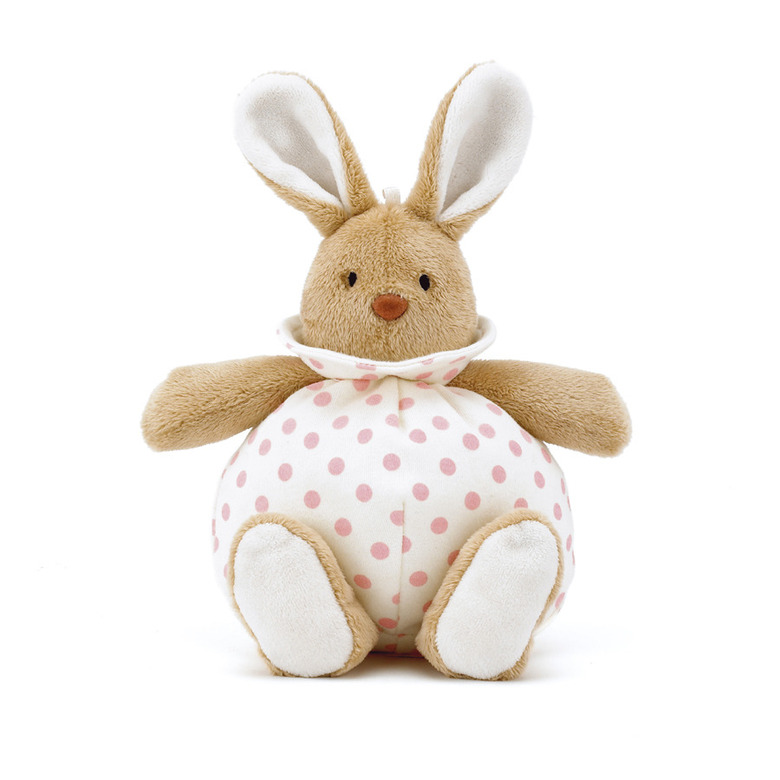 Puff Pink Bunny Soft Toy