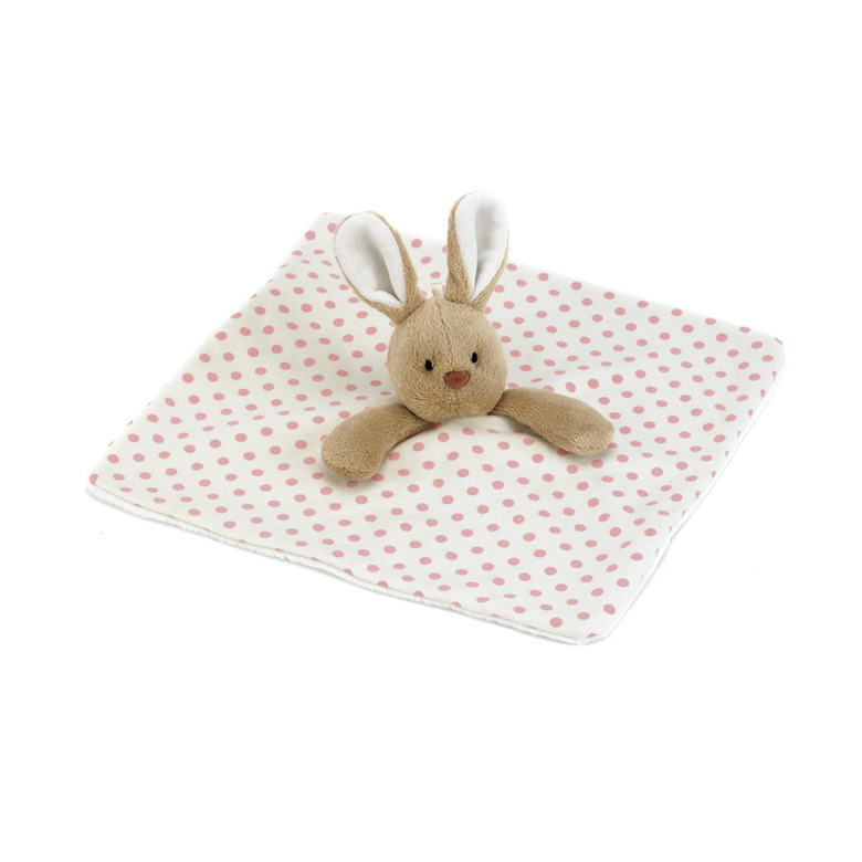 Puff Pink Bunny Soother